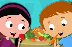 Vegetables Song | Nursery Rhymes From Oh My Genius