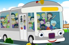 Wheel On The Bus | Baby Songs For Childrens And Kids
