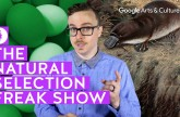 The Natural Selection Freak Show: Hyper History with Vsauce2 #PreviouslyOnEarth